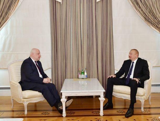 İlham Əliyev ATƏT Parlament Assambleyasının prezidentini qəbul edib