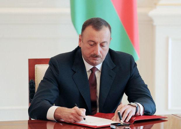 Prezident sərəncam imzalayıb
