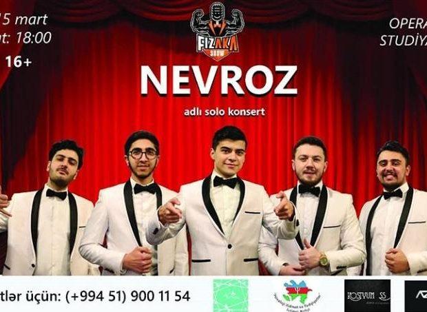 Fizaka şounun yeni ''Nevroz'' adlı solo konserti baş tutacaq