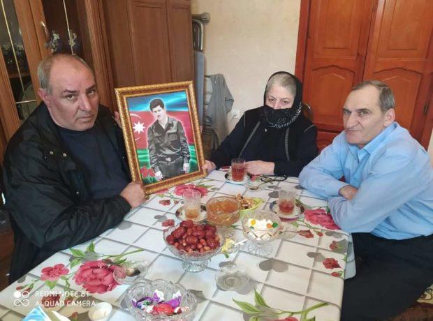 """""""Qarabağ Qaziləri"""" Birliyinin Cəbrayıl Rayon filialı şəhid ailələrinə baş çəkib"""
