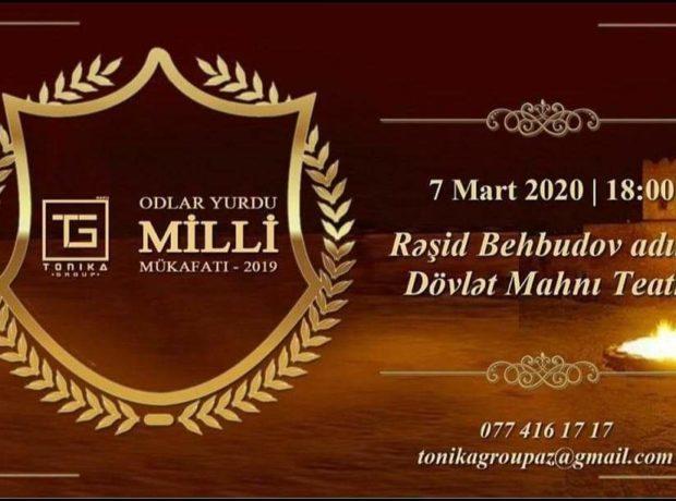 """""""Odlar Yurdu – 2019"""" Milli Mükafatının təqdim olunacağı tarix məlum oldu"""