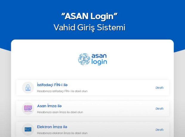 """Aprel ayında """"ASAN Login"""" sistemindən 264 000-dən çox vətəndaş qeydiyyatdan keçib"""