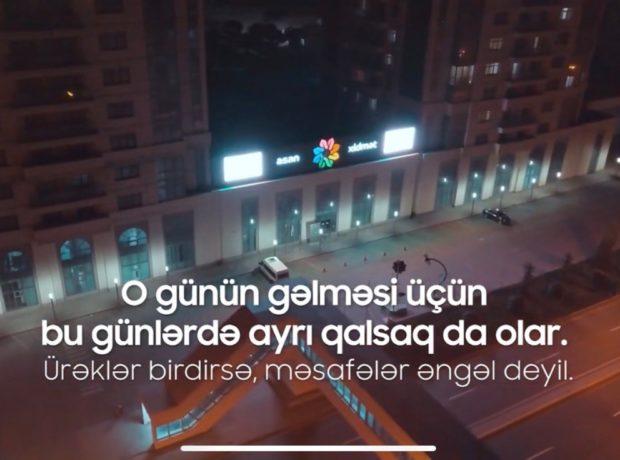 """""""ASAN xidmət"""" vətəndaşlara #OGünGələcək pozitiv mesajı ötürüb"""