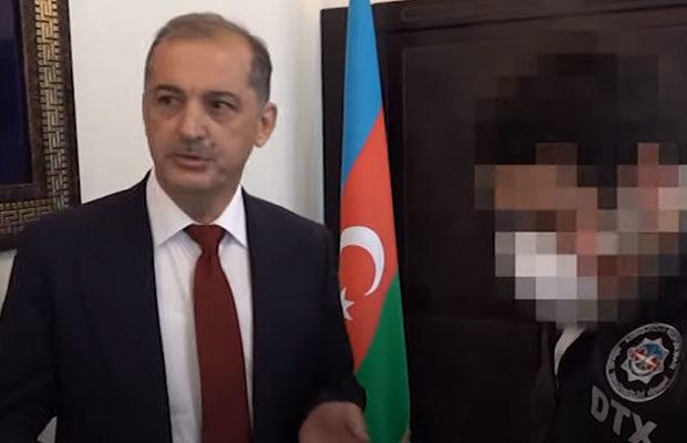 Vilyam Hacıyev belə saxlanıldı – Video