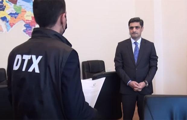 Nazir müavini belə saxlanılıb – Video