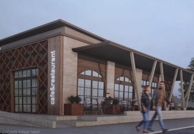 Ağsu rayonunda Şimal-qərb turizim koridoru-kommersiya obyektlərinin inkişaf konseptinə uyğun tikinti-quraşdırma işləri həyata keçirilir