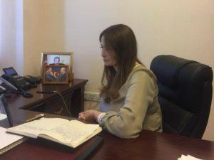 Q.Paşayeva Tokat Qaziosmanpaşa Universitetinin müəllim və tələbələri üçün online konfrans verib