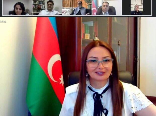 Qənirə Paşayeva video görüş keçirib – Fotolar