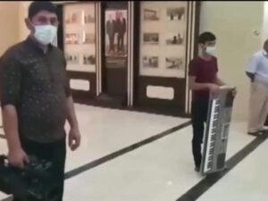 Zərdabda toy edənlər saxlanıldı – Video