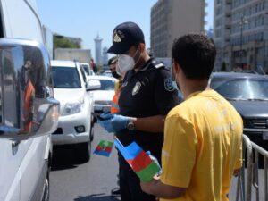 """""""Mənim polisim"""" adlı sosial aksiya keçirilib – Fotolar"""