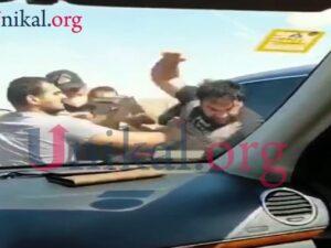 Kamil Zeynallı polisin gözü qarşısında yumruq davasına çıxdı – VİDEO