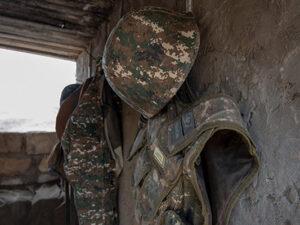 Təxribata əl atan erməni hərbçi öldürüldü