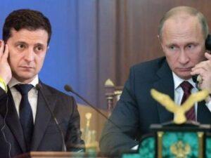 Putinlə Zelenski arasında telefon danışığı olub