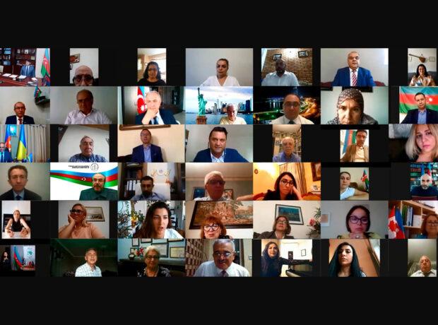 Dövlət Komitəsinin yaradılmasının 18-ci ildönümünə həsr olunmuş videokonfrans keçirilib