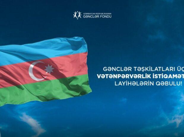 Gənclər təşkilatları üçün layihələrin qəbuluna start verilib – Foto