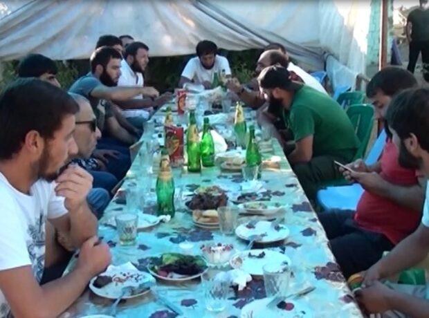 Azərbaycanda toy edən bəy və qonaqları saxlanıldı – Fotolar