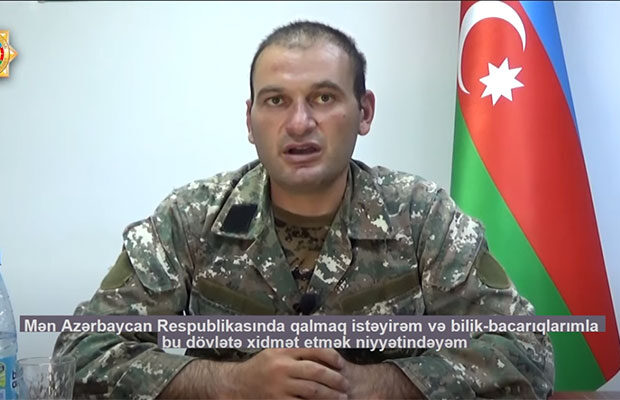 Saxlanılan erməni diversiya qrupunun komandiri danışdı – Video