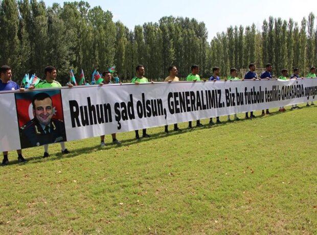 Şəhid general Polad Həşimovun xatirəsinə həsr olunmuş turnir keçirildi