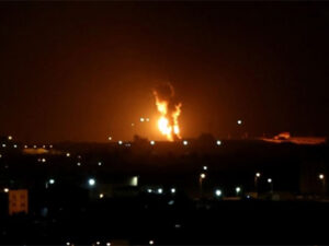 İsrail Həması vurdu