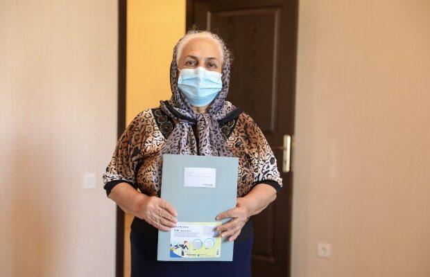 Daha 109 mənzil şəhid ailələri və Qarabağ əlillərinə verildi – Fotolar