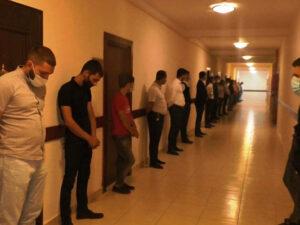 Restoranda toy yarımçıq dayandırıldı – Bəy və 29 nəfər saxlanıldı