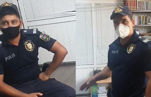 Şahbaz Xuduoğlunun polislə bağlı videosuna DİN-dən cavab