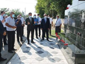 Millət vəkili şəhid bulağının açılışında iştirak etdi – Fotolar