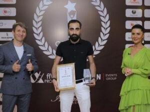 """Elşən Gəncəvi """"CASPIAN AWARDS"""" 2020 Mükafatına layiq görüldü"""