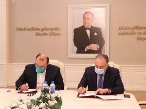 """AzTU ilə """"İdrak Texnoloji Transfer"""" MMC arasında əməkdaşlıq memorandumu imzalandı"""