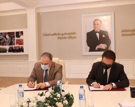 AzTU ilə Sənaye və İnnovasiyalar üzrə BDPTM arasında anlaşma memorandumu imzalandı