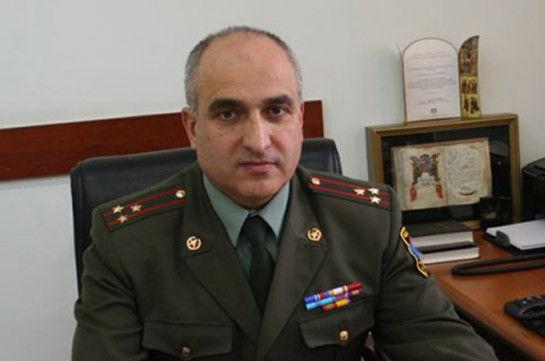 Ermənistan ordusu iki polkovnikdən sonra generalını da itirdi