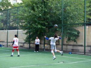 """Nərimanov rayonunda """"Könüllülər ili"""" çərçivəsində voleybol turniri keçirilib"""