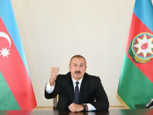 """İlham Əliyev: """"Qubadlı şəhəri işğalçılardan azad olundu"""""""