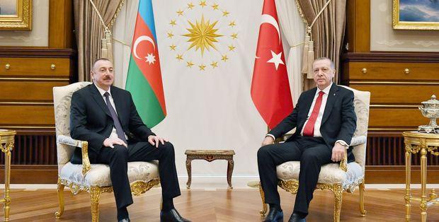 Prezident İlham Əliyev Rəcəb Tayyib Ərdoğana başsağlığı verib