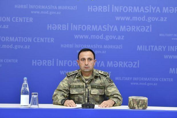 """Müdafiə Nazirliyinin rəsmisi: """"Azərbaycan Ordusu qələbə əzmi ilə döyüşləri davam etdirir"""""""