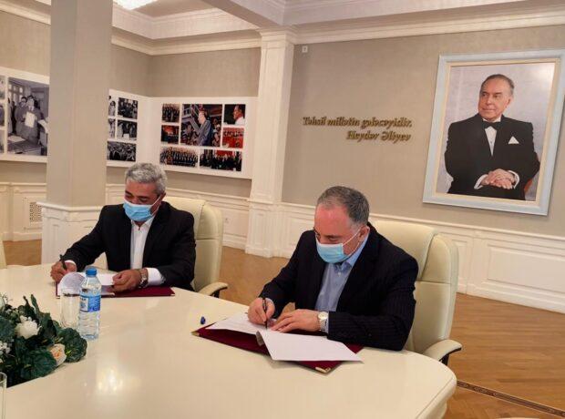 """AzTU və """"Hidroservice Engineering"""" MMC arasında əməkdaşlıq sazişi imzalandı"""
