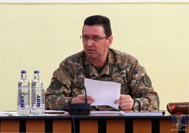 """Separatçı rejimin """"müdafiə naziri"""" yaralandığına görə vəzifədən uzaqlaşdırılıb"""