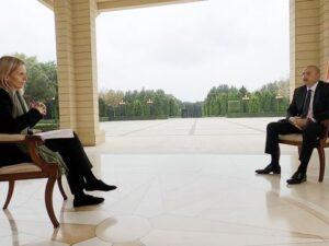 """İlham Əliyev """"BBC News"""" telekanalına müsahibə verib"""
