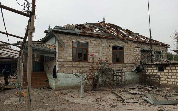 Ermənilər Tərtərə 20-yə yaxın top mərmisi atıb