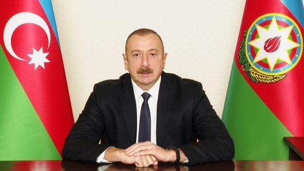 İlham Əliyev xalqa müraciət edib
