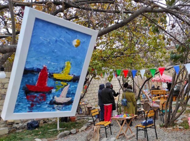 """""""Xeyriyyə qış yarmarkası"""" keçirilib – Fotolar"""