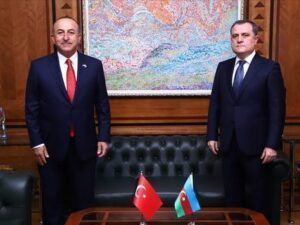 Ceyhun Bayramov və Mövlud Çavuşoğlu arasında telefon danışığı olub