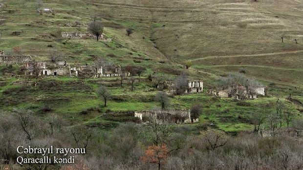 İşğaldan azad edilmiş Cəbrayılın daha bir kəndindən görüntülər – VİDEO