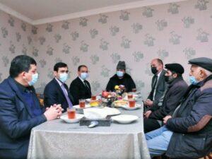 Millət vəkili Goranboyda şəhid ailələrini ziyarət etdi – FOTOLAR