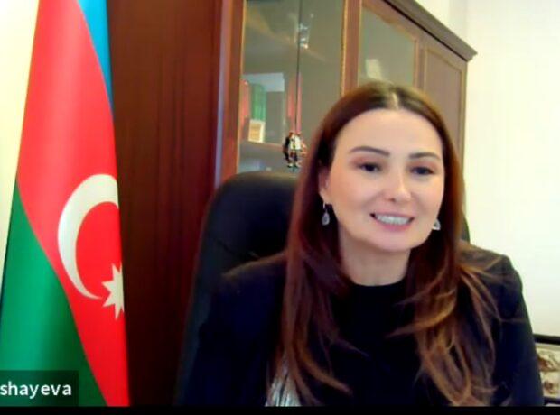 """Q.Paşayeva qırğızca nəşr edilən """"Qarabağ hekayələri""""-nin təqdimatında Türk dünyasına çağırış edib"""