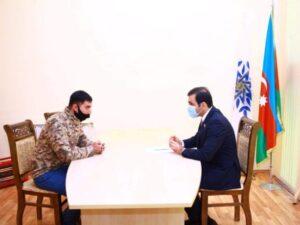 Deputat Goranboyda fərdi vətəndaş qəbulu keçirdi – FOTOLAR