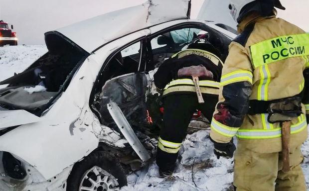 Rusiyada ağır yol qəzası nəticəsində səkkiz nəfər öldü, üç nəfər yaralandı – FOTO