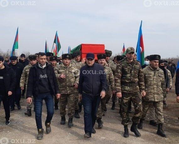 Şəhid polkovnik-leytenant dəfn edildi – FOTO/VİDEO