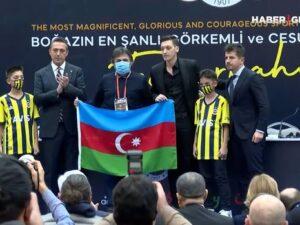 """Məsut Özil """"Fənərbaxça""""da təqdimatı zamanı Azərbaycana dəstəyini bildirdi – VİDEO"""