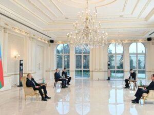 Prezident Belarus səfirini qəbul etdi – FOTO